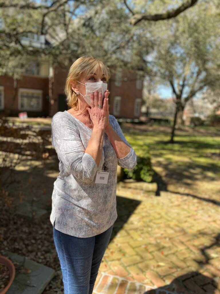 Houston Hospice Volunteer of the Year 2021 is Jerri Trigg