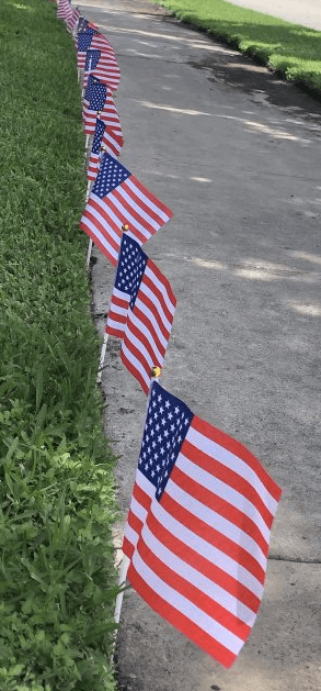 Houston Hospice honors the servicemen and women who lost their lives serving the United States of America on Memorial Day 2021